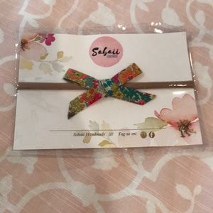 Other - NWOT Liberty of London Handmade Bow